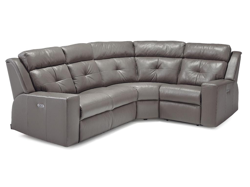 Palliser furniture living room grove sectional 41062 for Sectional sofa hamilton