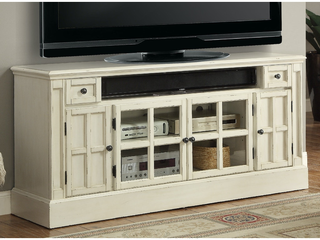 Parker House Home Entertainment 62 39 39 Tv Console With Power Center Cha 62 Kamin Furniture