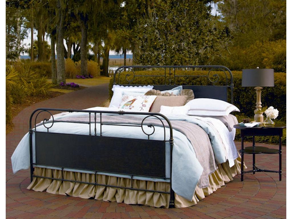 Paula Deen By Universal Bedroom Garden Gate Bed 5 0 Queen 192310 Bartlett Home Furnishings