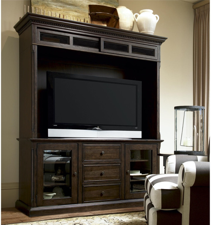 Paula Deen By Universal Home Entertainment Console And Hutch 193965c