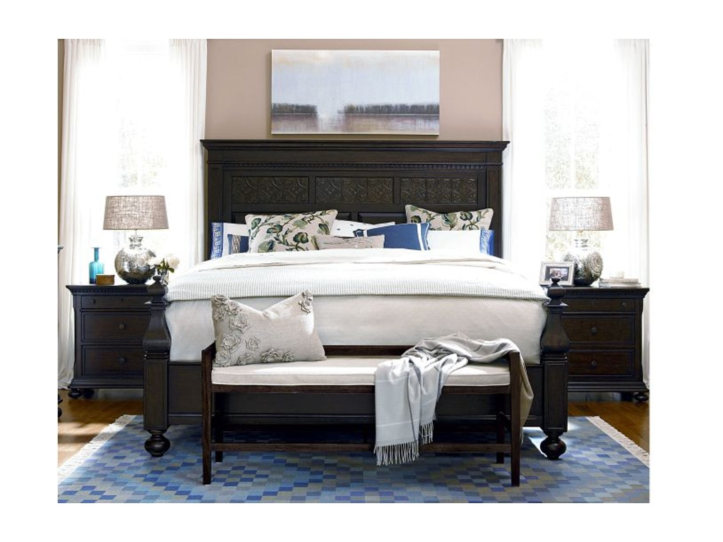 Paula Deen By Universal Bedroom Aunt Peggy 39 S Bed Queen 193250b Colony House Inc Saint
