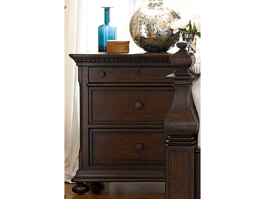 Paula deen by universal bedroom nightstand 193350 carol house furniture maryland heights and - Paula deen furniture for sale ...