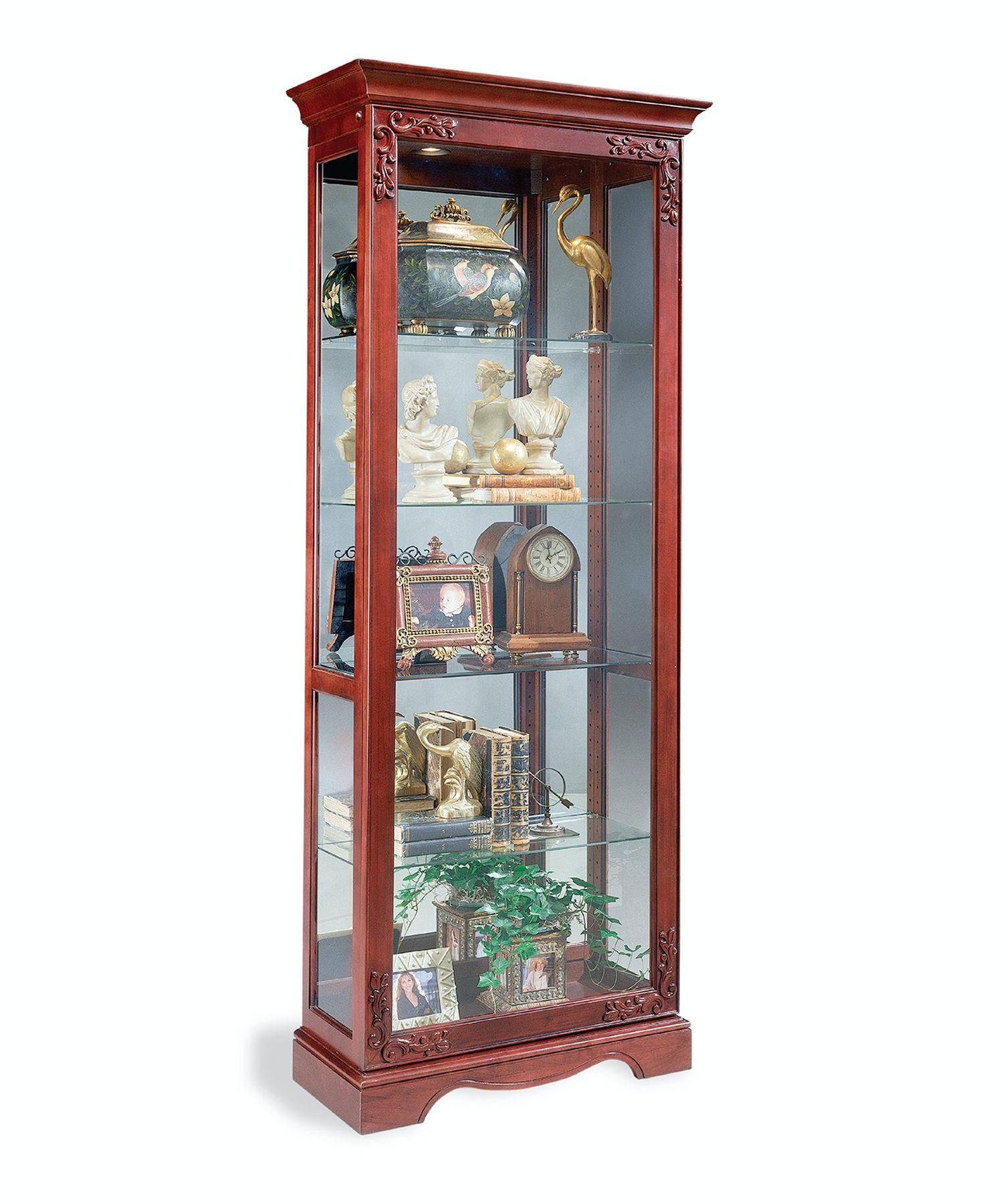 Philip Reinisch Living Room Andante Door Curio Cabinet