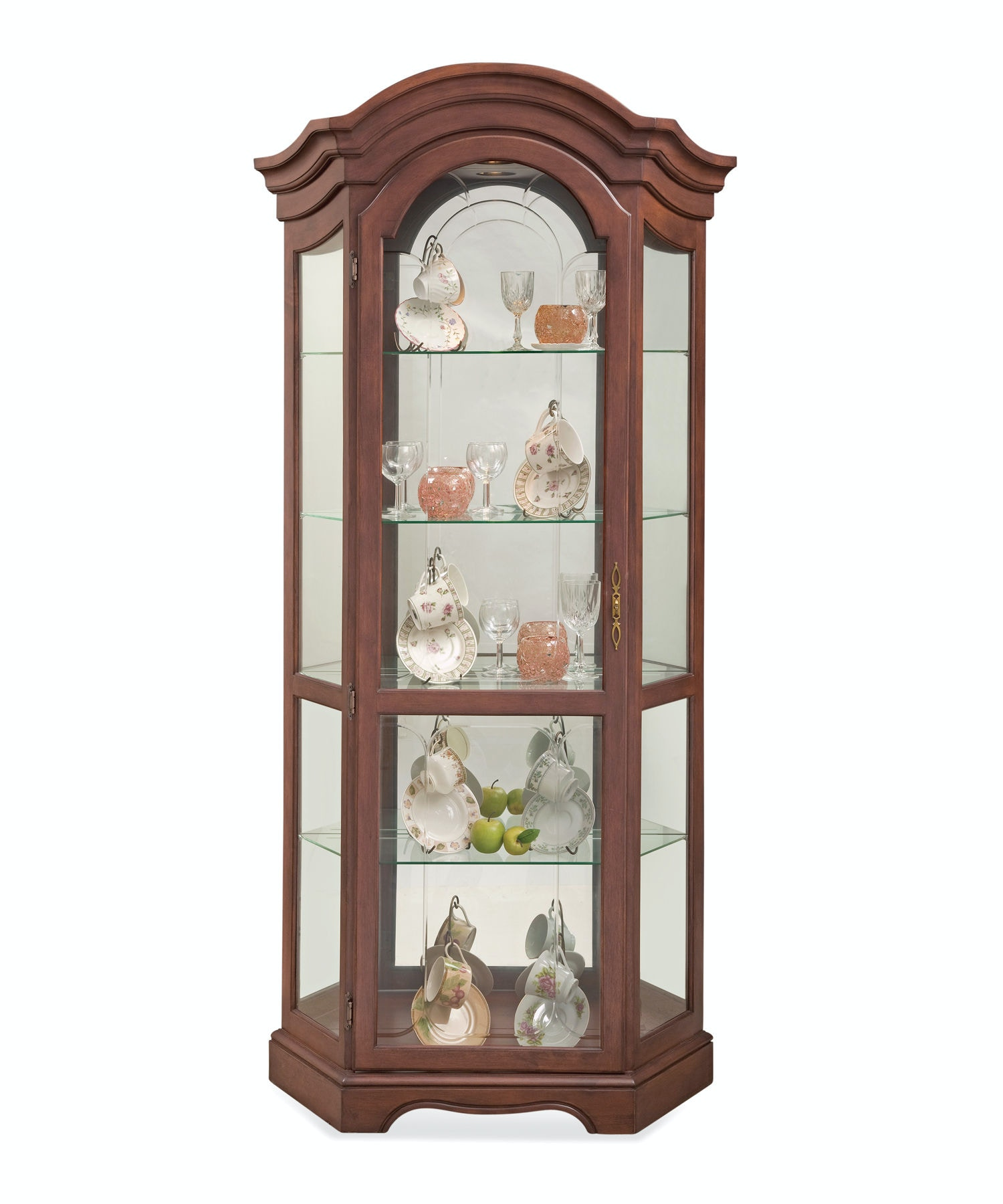 Philip Reinisch Living Room Stafford Curio Cabinet
