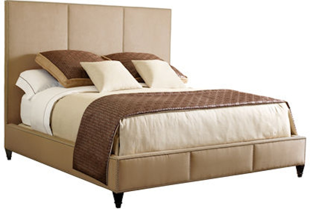 Henredon bedroom carlyle bed 6 6 king a6830 12 eldredge furniture salt lake city ut for Bedroom furniture salt lake city