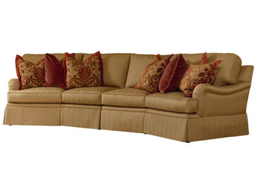 Henredon Living Room Media Wedge Sectional H2000k