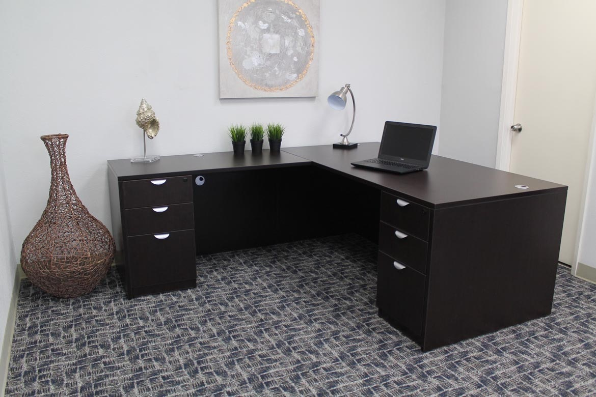 Presidential Seating Home Office Executive L Shape Corner Desk GROUPA11 MOC  At Hennen Furniture