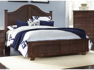 Progressive Furniture 4/6-5/0 Full/Queen Arched Headboard 61662-33