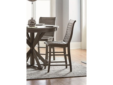 Progressive Furniture Wood Counter Chair (2/Carton) D801-63