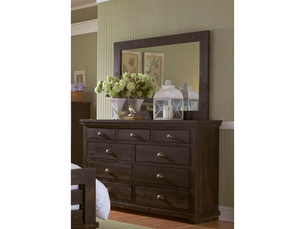 Progressive Furniture Bedroom Drawer Dresser P612 23