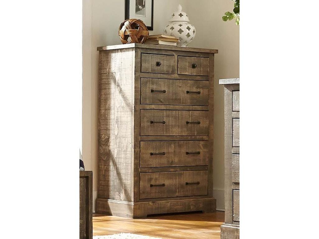 Progressive Furniture Bedroom Drawer Chest P632 14 Bob