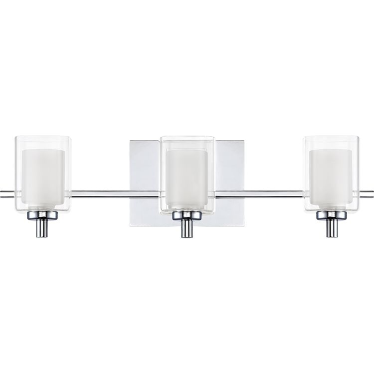 Quoizel Bathroom Light Fixtures quoizel lamps and lighting bath light klt8603cled - lynch