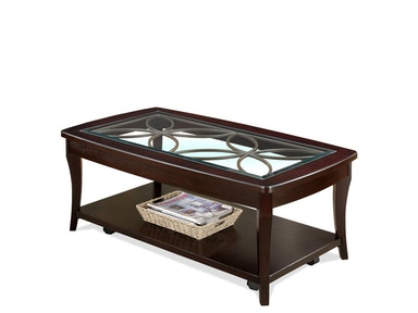 Riverside Rectangle Cocktail Table-Castered 12401