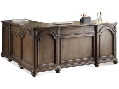 Riverside L Desk And Return 15832