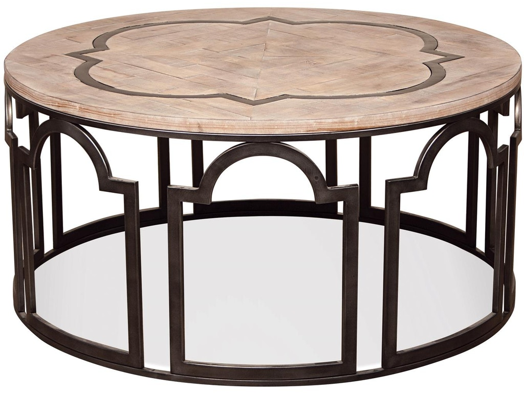 Riverside living room round coffee table 20102 stacy furniture riverside round coffee table 20102 geotapseo Image collections