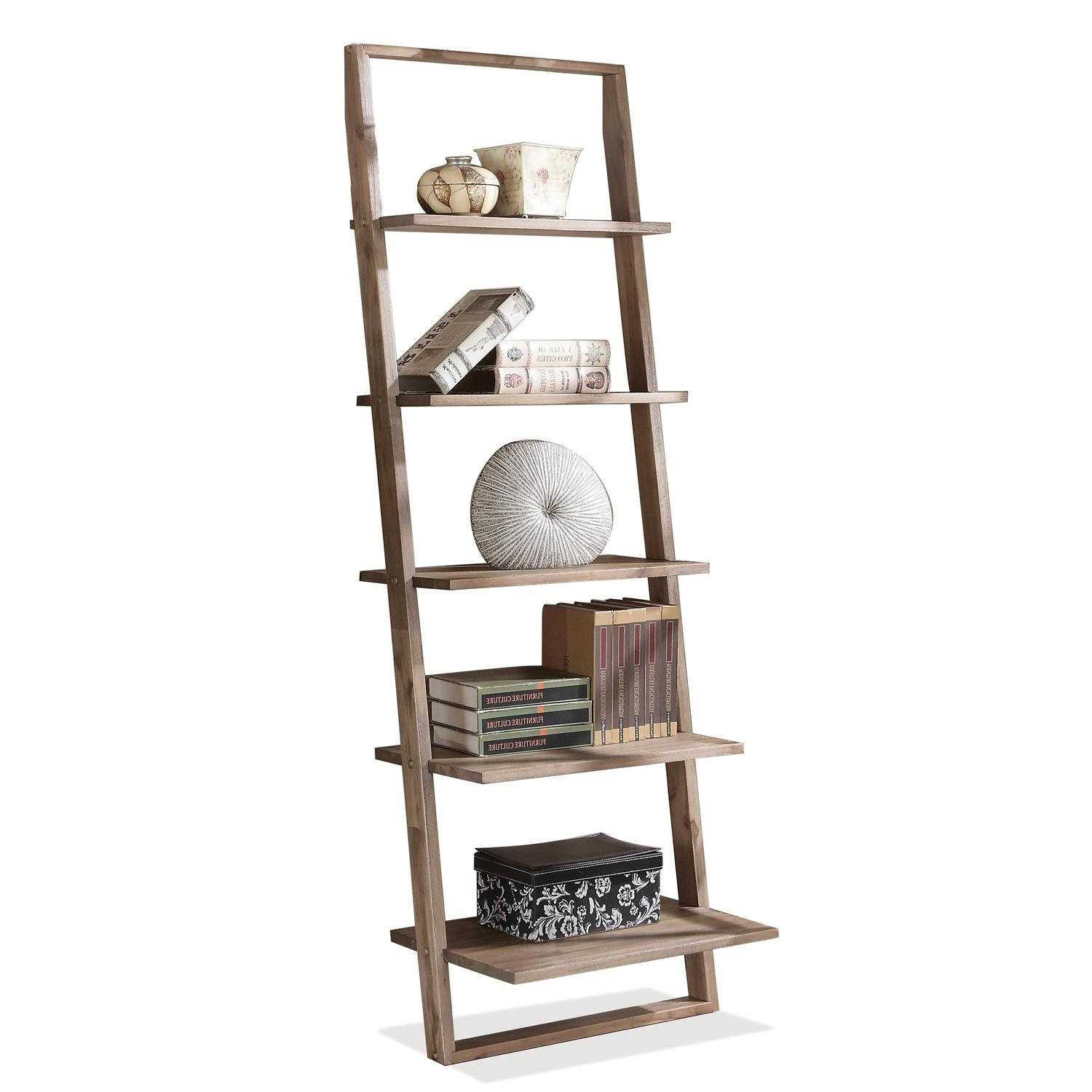 Riverside Leaning Bookcase 27737 ...