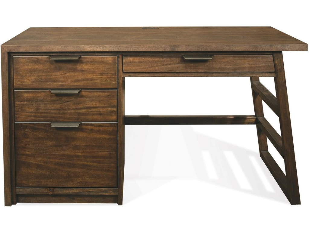 Riverside Home Office Single Pedestal Desk
