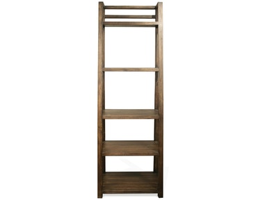 Riverside Leaning Bookcase 28038