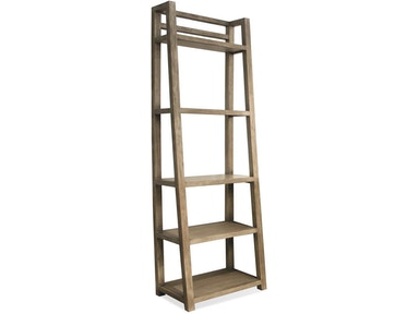 Riverside Leaning Bookcase 28138