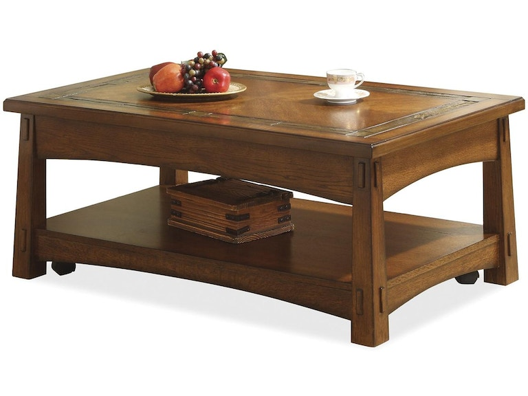 Riverside Living Room Lifttop Coffee Table Stacy Furniture - Grapevine coffee table