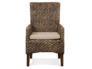 Riverside Woven Leaf Arm Chair 36966