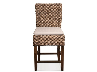 Riverside Woven Leaf Counter Stool 36967