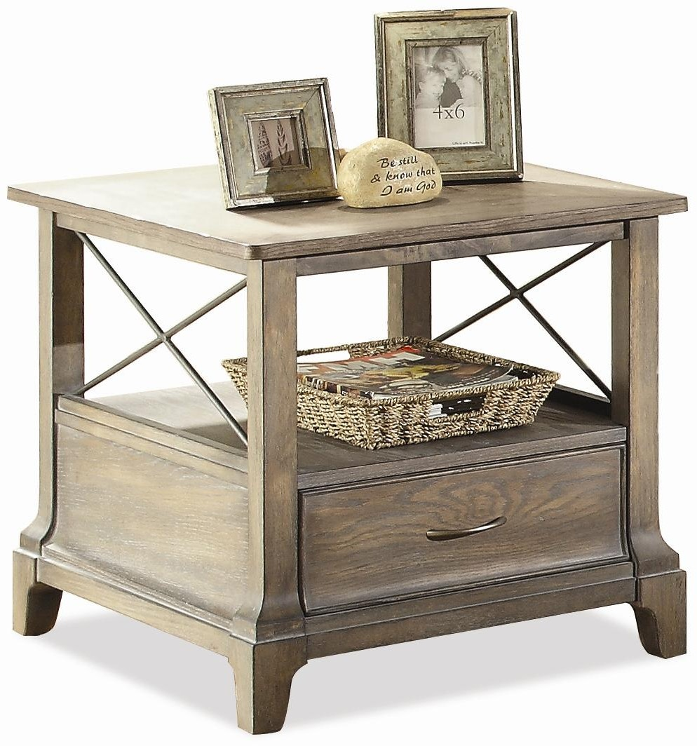 Riverside Living Room Side Table Kaplans Furniture