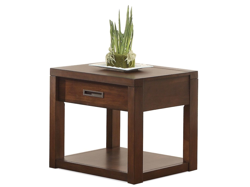 Riverside living room side table 75809 fiore furniture for Living room side tables