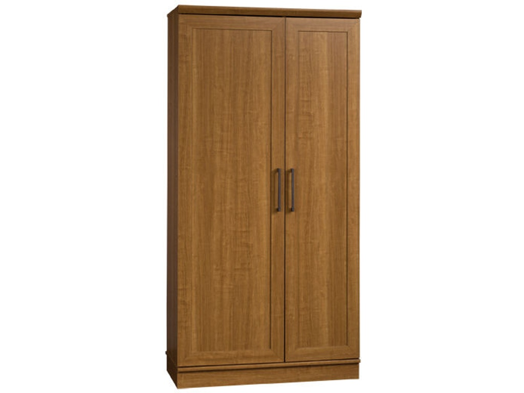 wardrobe a cabinet thevol storage elegant basic hidden room homeplus additional glamorous in dining sauder oak dakota