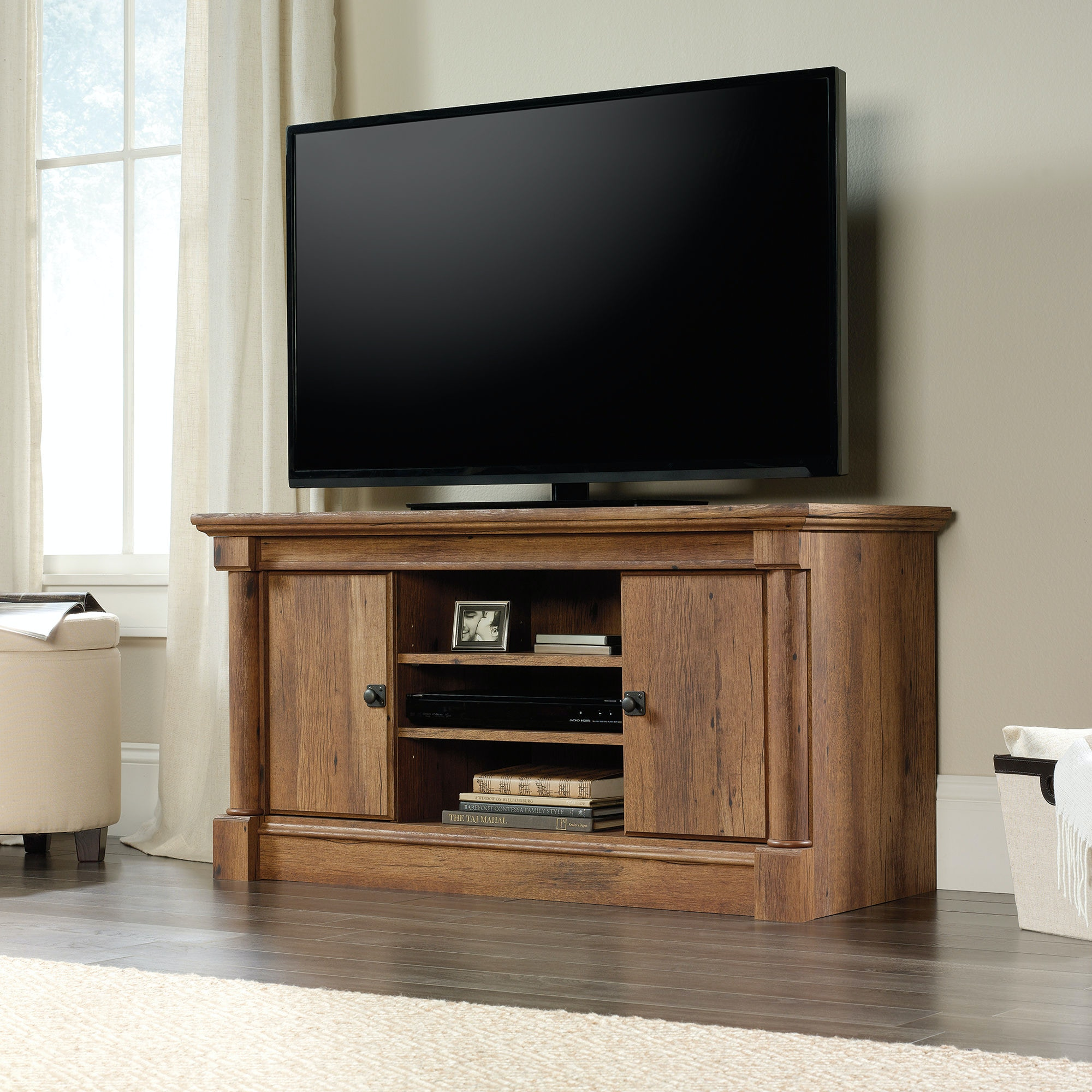 High Quality Sauder Living Room TV Stand 420605 At Fiore Furniture Company