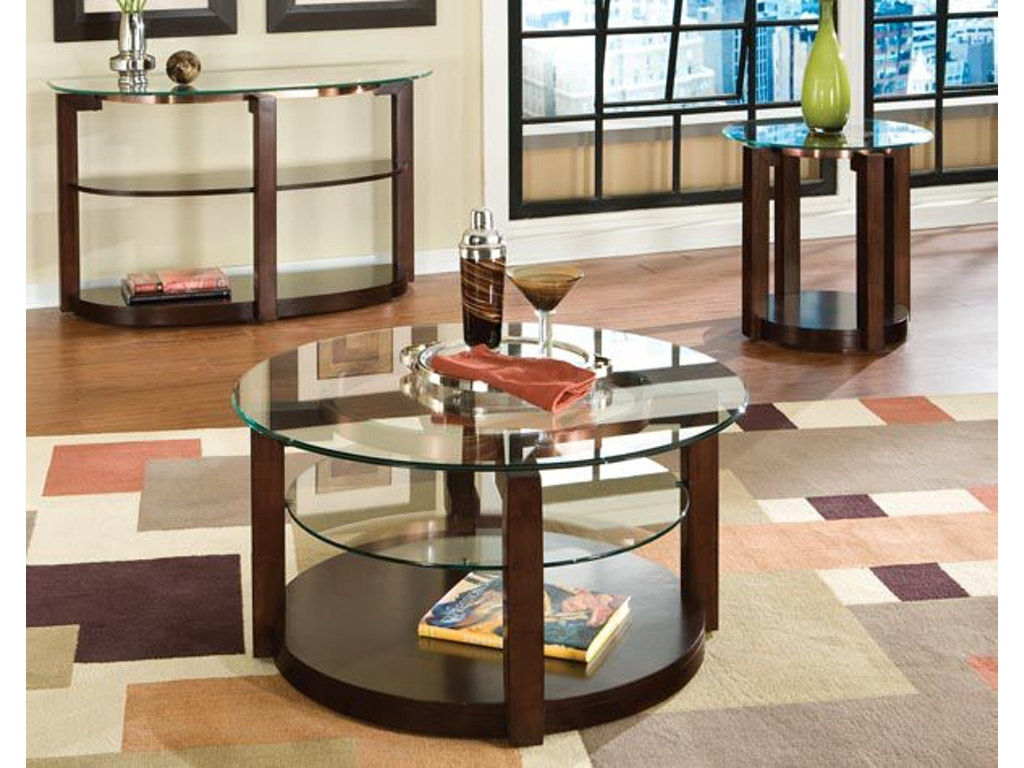 Standard Furniture Living Room Table Cocktail Round With
