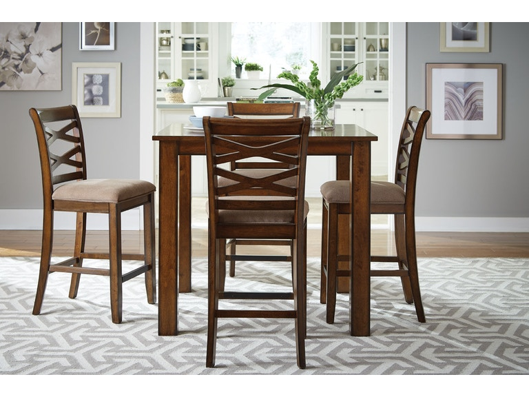 dining room counter height table with 4 chairs 11223 simply discount