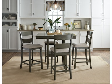 Standard Furniture Counter Height Table, With 4 Chairs 13102