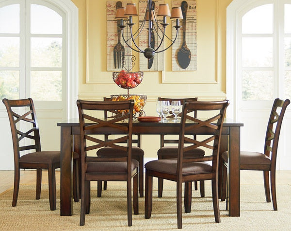 Charmant Standard Furniture Dining Room Leg Table, With 6 Chairs 11222   Aaronu0027s  Fine Furniture   Altamonte Springs, FL