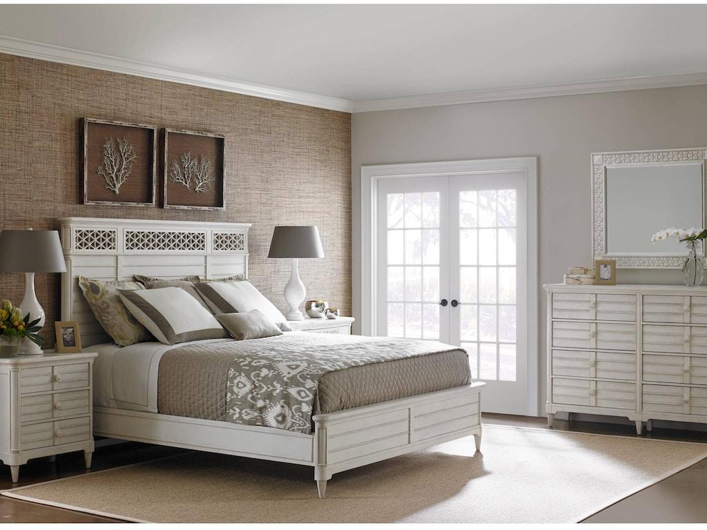 Stanley Furniture Bedroom Wood Panel Bed Queen 451 23 40