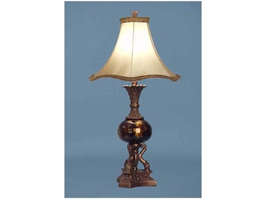 Stylecraft Lamps Table Lamp and Shade 28 inch PT3789 DAUPHINE GOLD