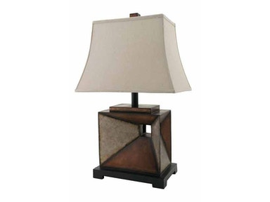 Stylecraft Lamps Table Lamp and Shade 28 inch PT5993 FOLSOM