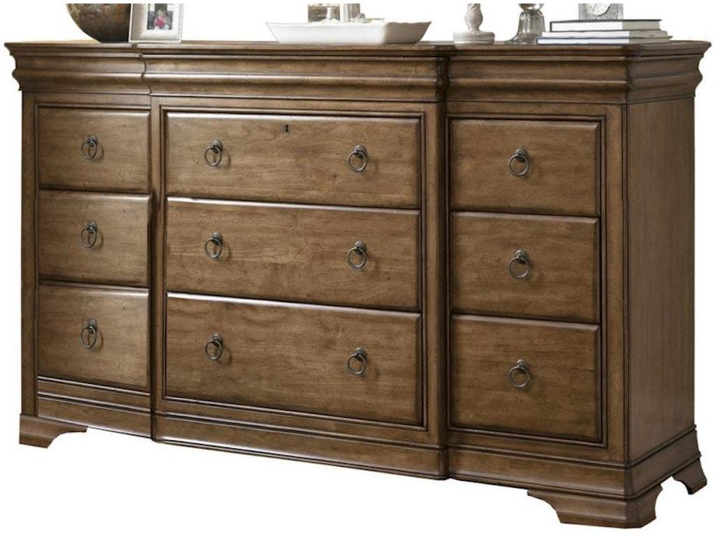 Universal furniture bedroom drawer dresser 071040 mccreerys home furnishings sacramento for Bedroom furniture in sacramento
