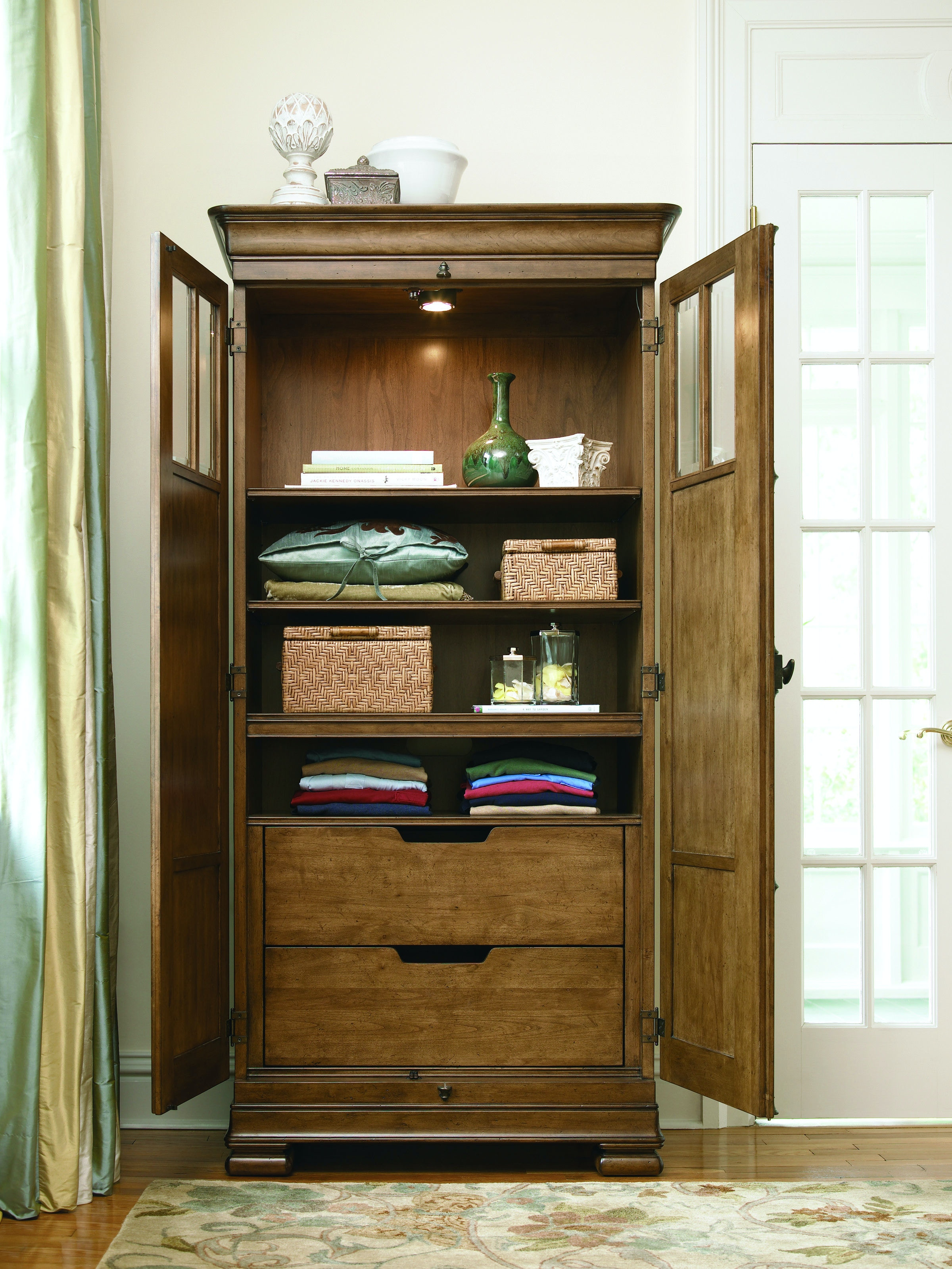 Universal Furniture Bedroom Tall Cabinet 071160 Stacy Furniture