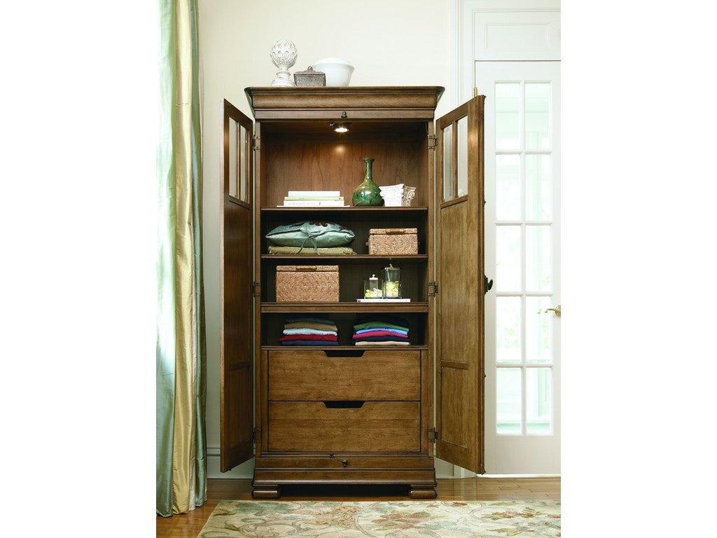 Universal Furniture Bedroom Tall Cabinet 071160 Schmitt Furniture Company New Albany In