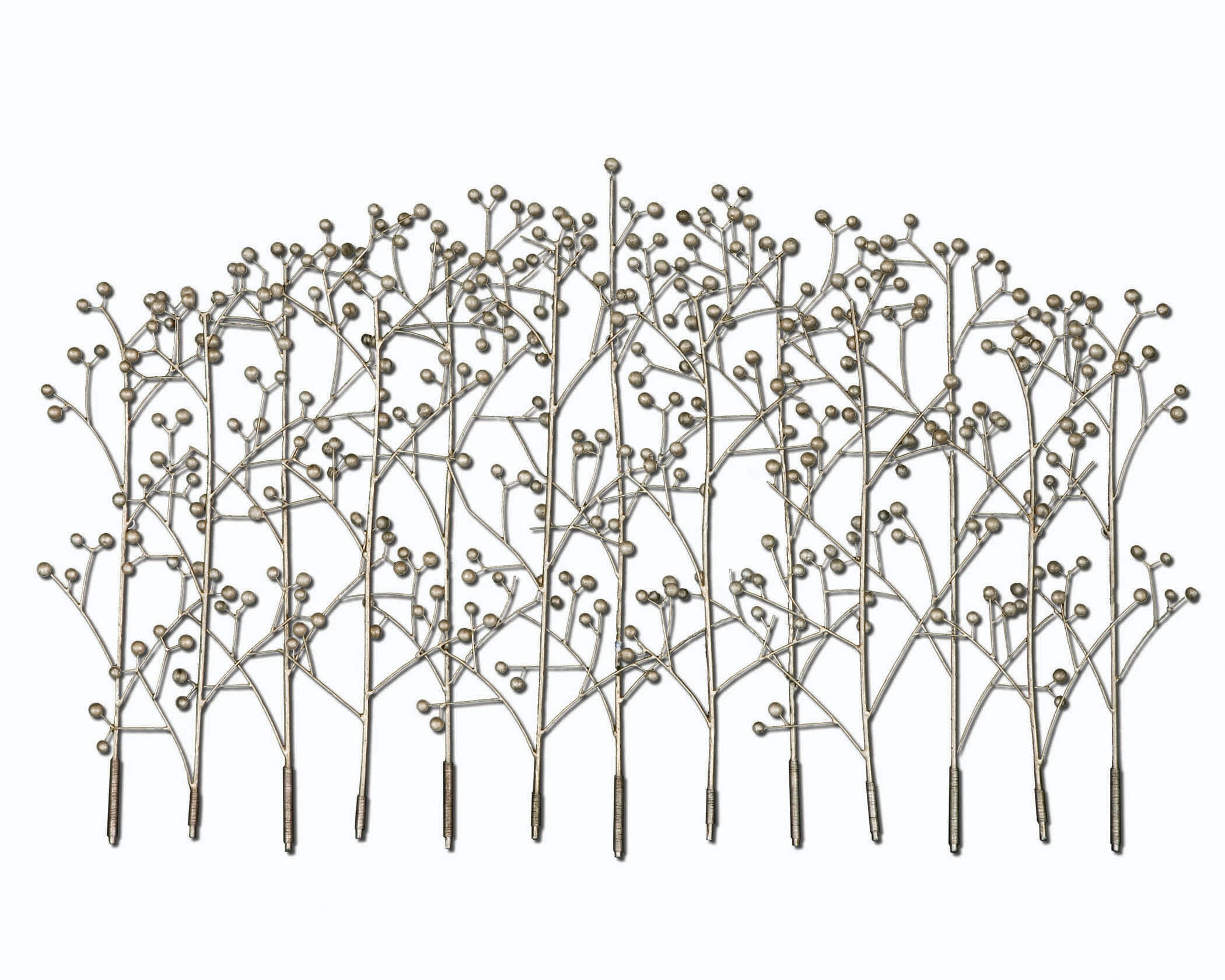 Uttermost Accessories Iron Trees Metal Wall Art