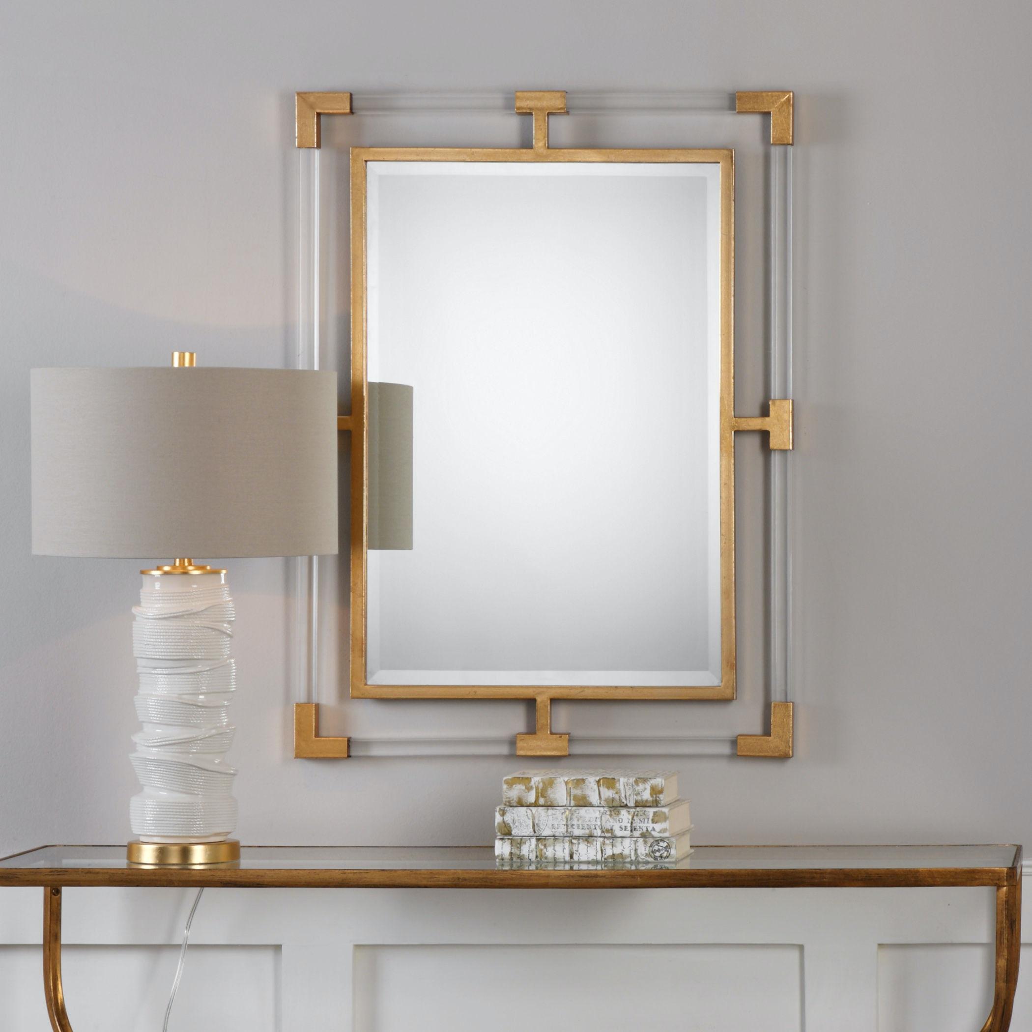 uttermost balkan modern gold wall mirror 09124 uttermost bedroom balkan modern gold wall mirror 09124      rh   mclaughlins
