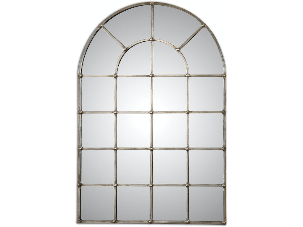 Uttermost Bedroom Barwell Arch Window Mirror 12875 Grace