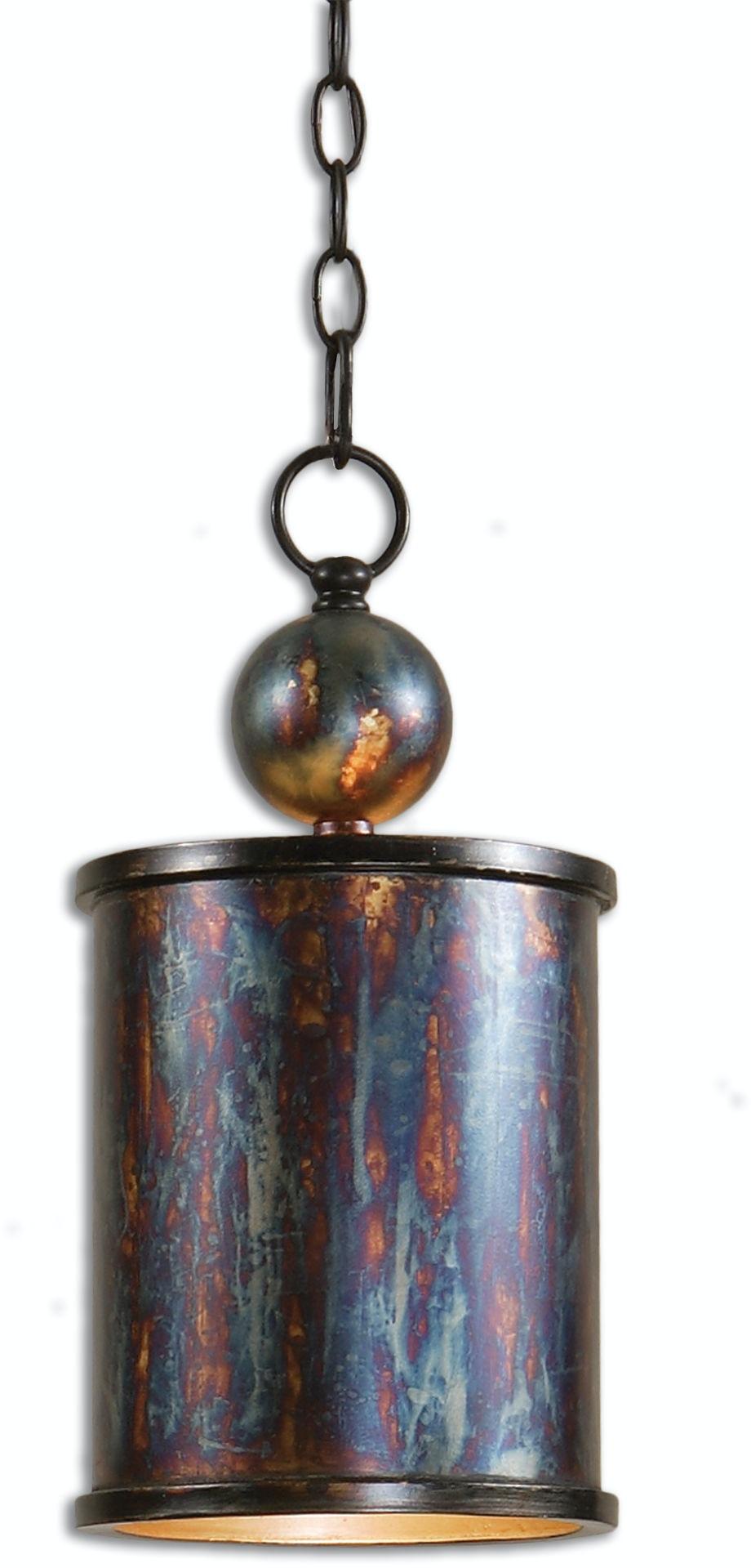 Uttermost Lamps And Lighting Albiano 1 Light Bronze Mini