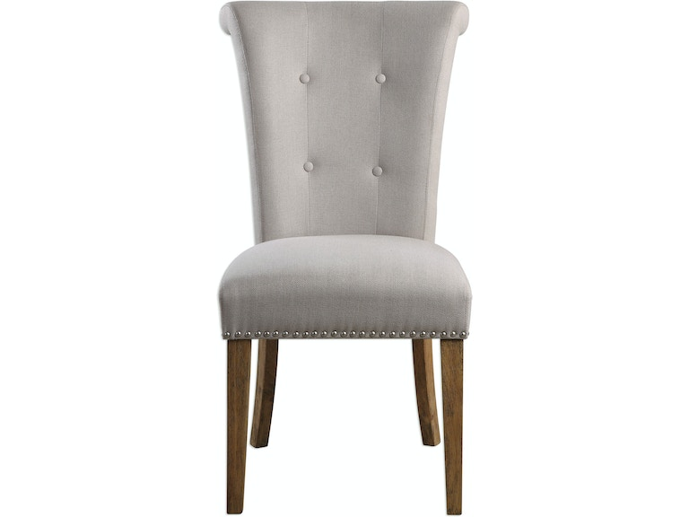 Uttermost Dining Room Lucasse Oatmeal Chair 23374