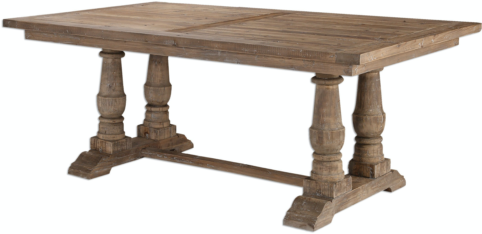 Uttermost Dining Room Stratford Salvaged Wood Dining Table  : 24557 5 from www.issisandsons.com size 1024 x 768 jpeg 39kB