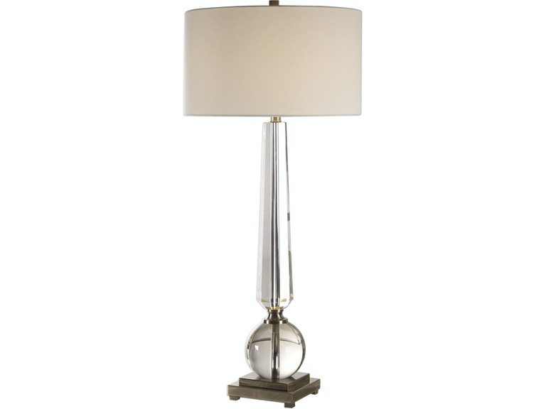 Uttermost Lamps And Lighting Crista Crystal Lamp 27883 Anderson Furniture Company Duluth Virginia Mn