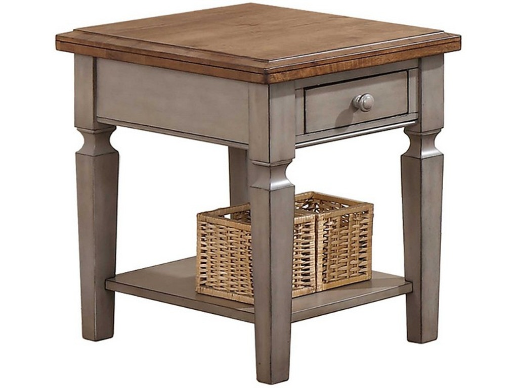 Winners only living room end table ab100e factory direct - Factory direct living room furniture ...