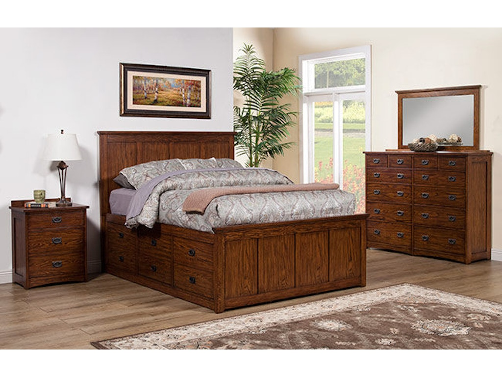 Winners Only Bedroom Queen Storage Bed Bcq1001qs Carol