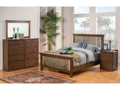 Winners Only Slat Queen Bed BCQ1002Q